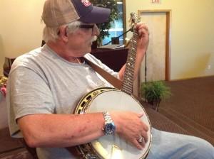 Banjo student